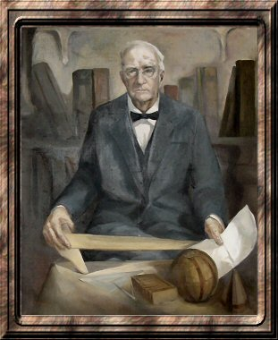 Painting of Prof. A. H. Kennedy