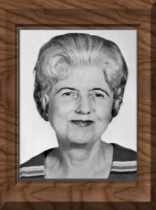 Miss Lucille Richards, Photo from 1969 Yearbook, the Year She Retired.